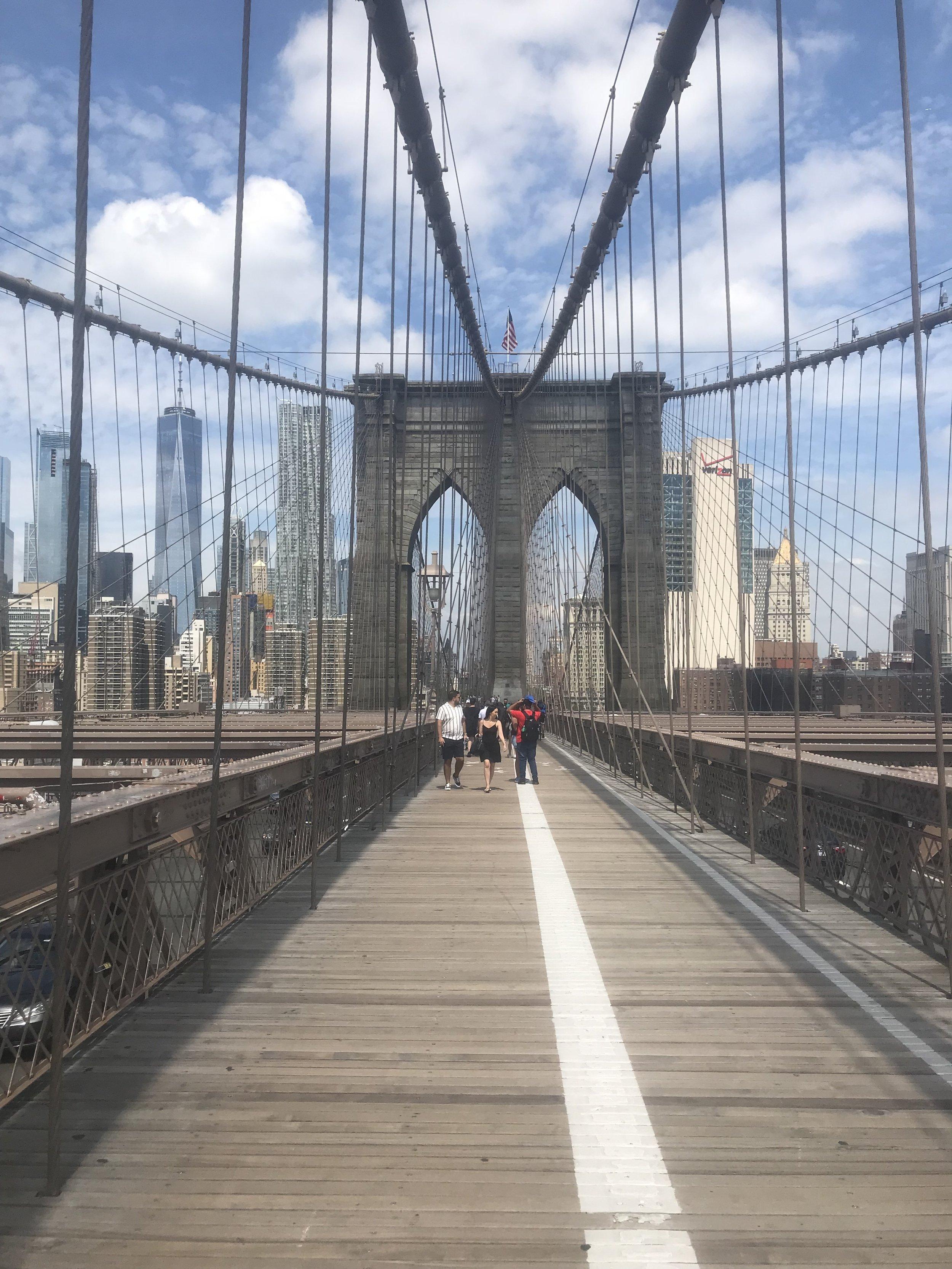 Pont de Brooklyn, Marie-Julie Gravel (été 2018)