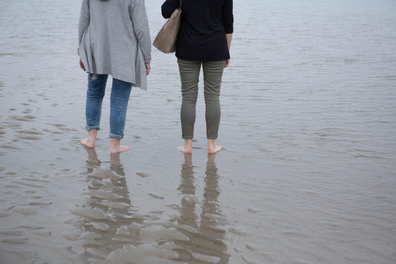 À la mer en septembre 2018, Catherine Gravel