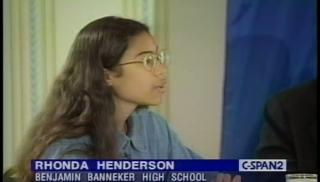 Rhonda CSPAN High School.jpg