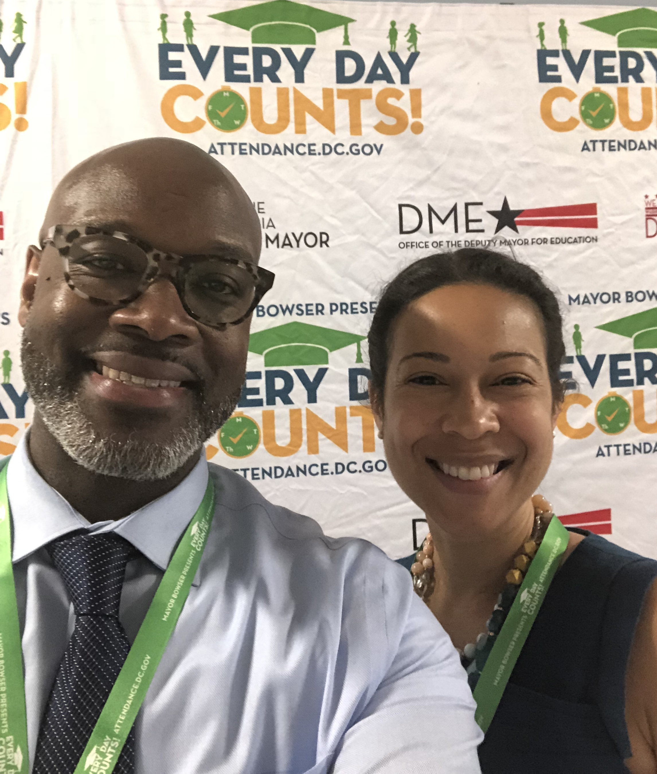 Co-presenting successful attendance management strategies at Every Day Counts Summit.