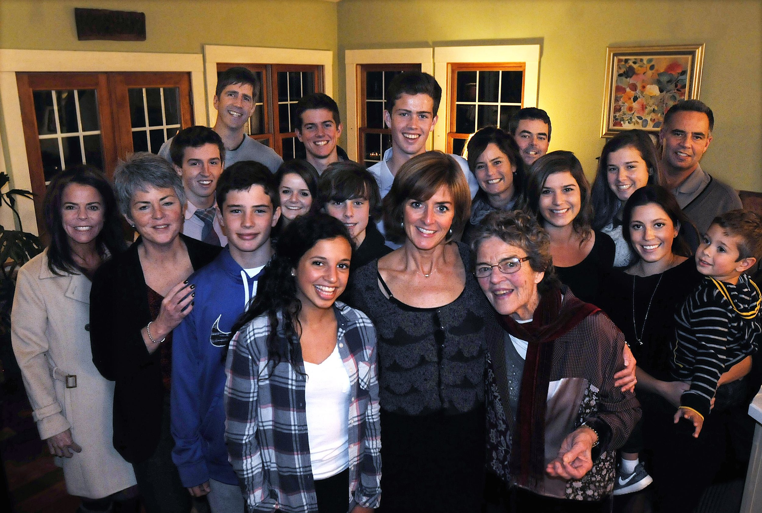 Members of the extended O'Connor family