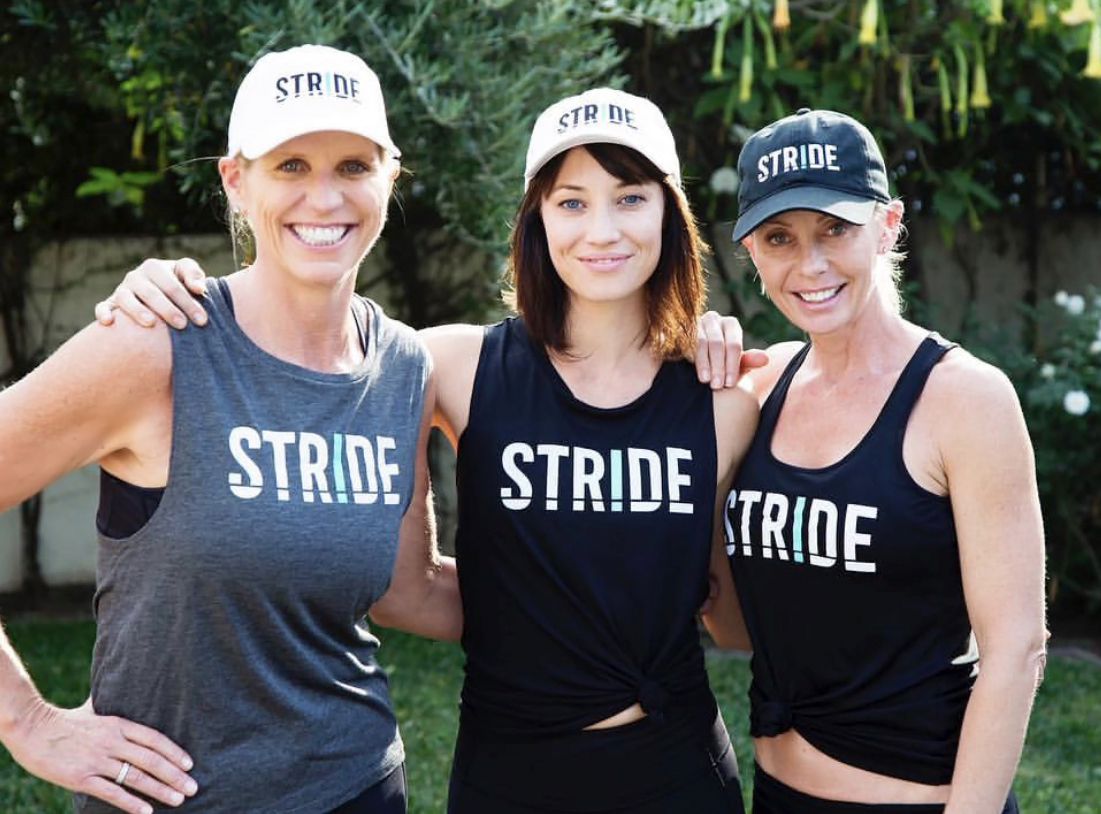 Leanne with STRIDE Co-Founders Katie Ownbey & Misa Dugally