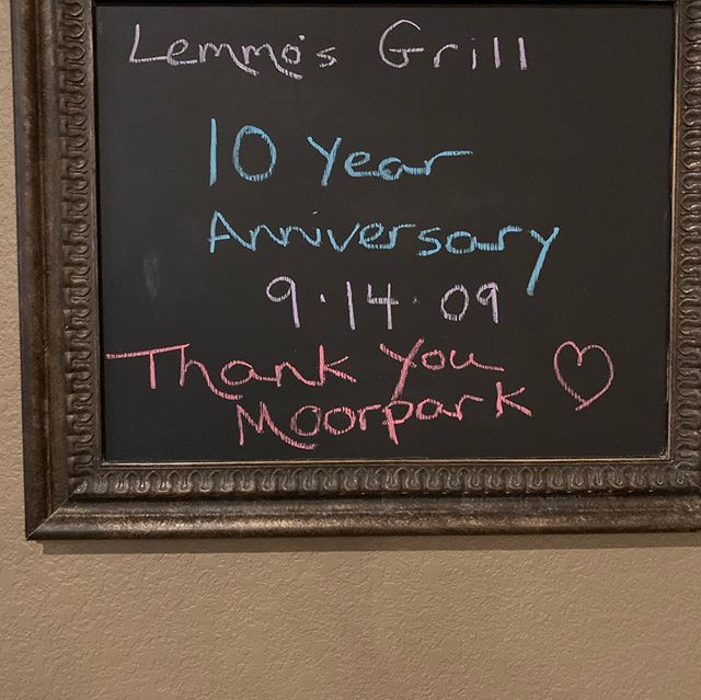 Well Moorpark...it's been a hell of a 10 years. We've loved with you, laughed with you, and grown with you. Thank you for the continued support, here are a few of our favorite memories. Let us know some of yours down below!! Here's to 100 more, we couldn't have done it without you. #welovemoorpark #lemmosgrill #lemmosgrillmoorpark