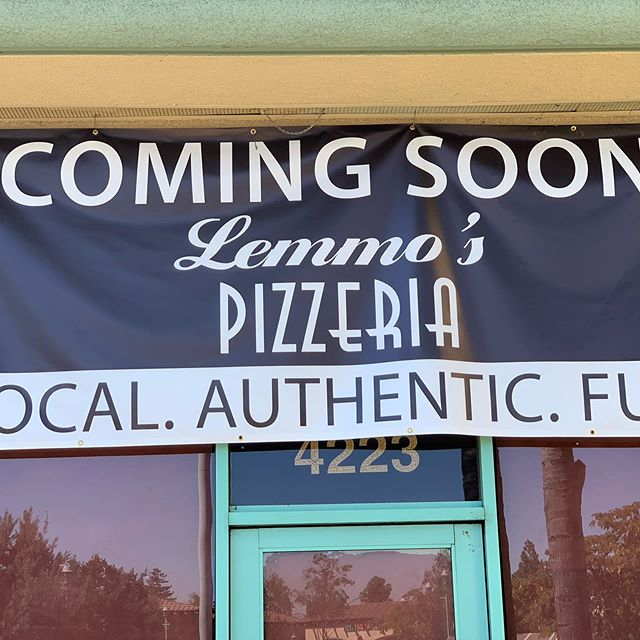 Something exciting is coming!! @lemmospizzeria #pizza #lemmospizzeria