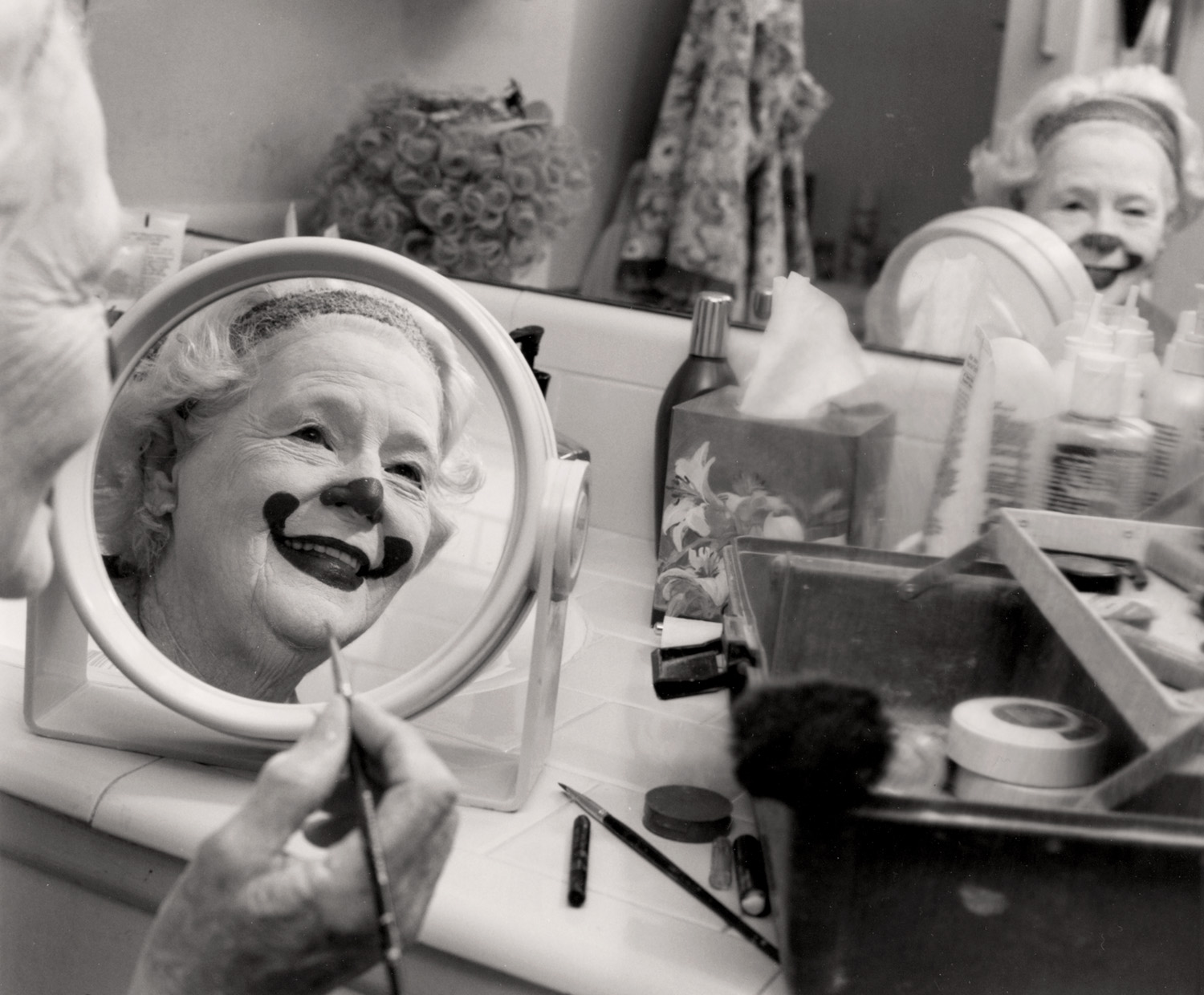 """Lillian the Clown - from the series """"Women of Courage"""""""