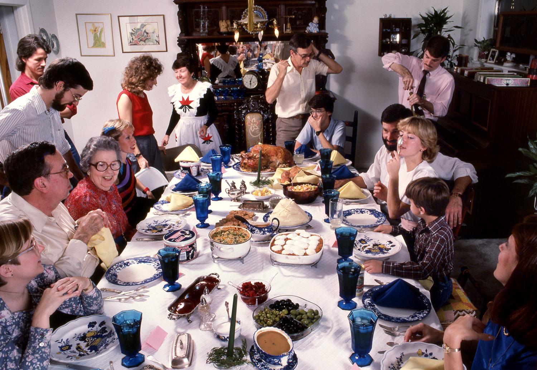 Bass Family Holiday Dinner