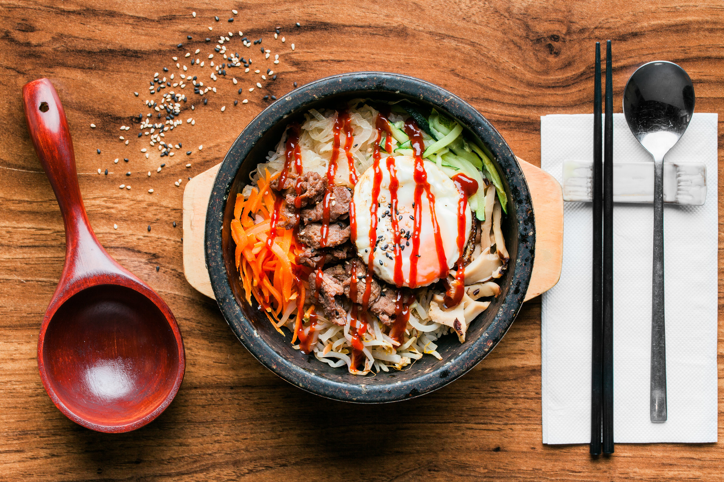 Kajoku Korean and Japanese Cuisine captured by Joe Tredray