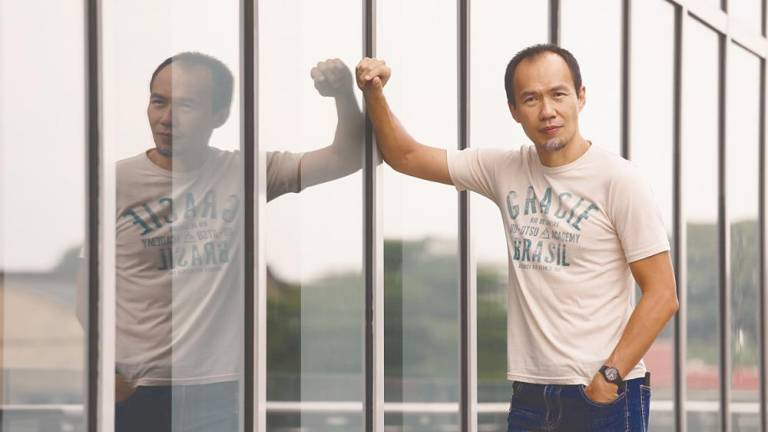 Lee is hoping his psychological thriller Two Sisters, the first film released by new horror film production house Kuman Pictures, will appeal to modern audiences. — Sunpix by Asyraf Rasid