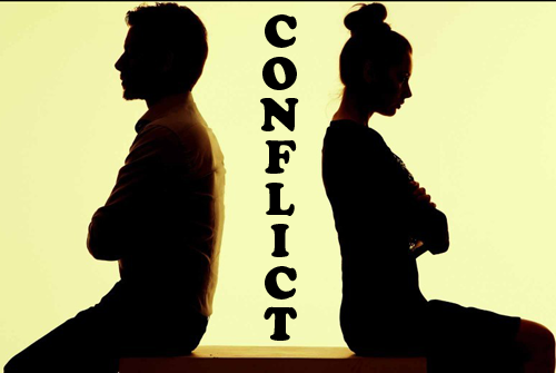 "How To Handle Conflict? - Social scientist Kenneth Thomas and industrial psychologist Ralph Kilmann identified five ""conflict handling modes"" shown below.COMPETING- Completing is a power-oriented mode. When competing, an individual pursues his or her own concerns at the other person's expense, using whatever power seems appropriate to win his or her position - the ability to argue, rank, economic sanctions, etc. Competing might mean standing up for your rights, defending a position you believe is correct, or simply trying to win.ACCOMMODATING- Accommodating the the opposite of competing. When accommodating, an individual neglects his or her own concerns to satisfy the concerns of the other person; there is an element of self-sacrifice in this mode. Accommodating might take the form of selfless generosity, obeying another person's order when you would prefer not to, or yielding to another's point of view.AVOIDING- When avoiding, an individual does not immediately pursue his or her concerns or those of the other person. He or she does not address the conflict. Avoiding might take the form of diplomatically side-stepping an issue, postponing an issue until a better time, or simply withdrawing from a threatening situation.COLLABORATING- Collaborating is the opposite of avoiding. In this mode, an individual attempts to work with the other person to find a solution that fully satisfies the concerns of both. It involves exploring an issue to identify the underlying concerns of the two individuals and to find an alternative that meets both sets of concerns. Collaborating might take the form of exploring a disagreement to learn from each other's insights, resolving some condition that would otherwise compete for resources, or confronting and trying to find a creative solution to an interpersonal problem.COMPROMISING- The objective of compromising is to find an expedient, mutually acceptable solution that partially satisfies both parties. Compromising falls on a middle ground between competing and accommodating, giving up more than competing, but less than accommodating. Similarly, it addresses an issue more directly than avoiding, but doesn't explore it in as much depth as collaborating. Compromising might mean splitting the difference, exchanging concessions, or seeking a quick middle-ground position."
