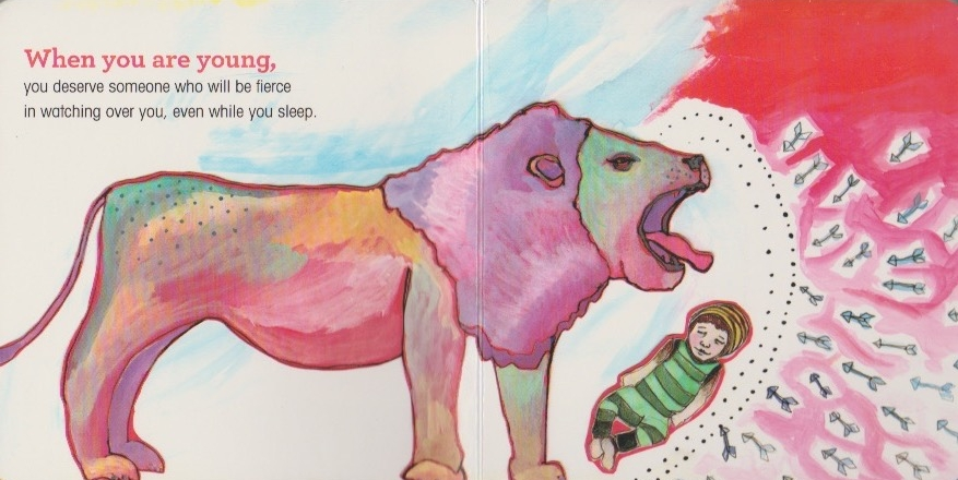 I love this image from one of my children's picture books titled, When You Are Young by Ashmae Hoiland for  rags.com .
