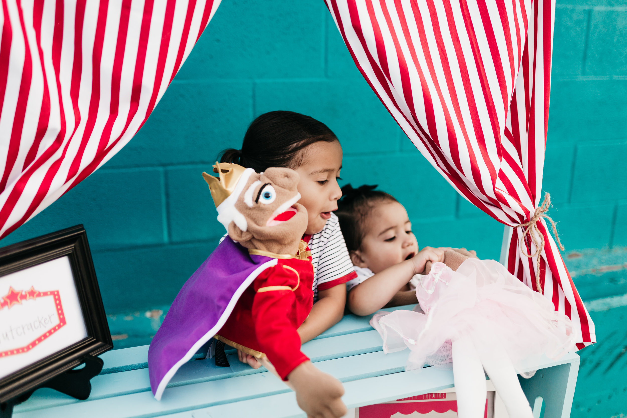 Photo by:  @baylieranaephoto  Puppets also work children's fine motor skills and dexterity!