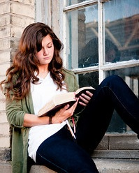 Yes I did have cheesy pictures taken of me with my scriptures in high school haha