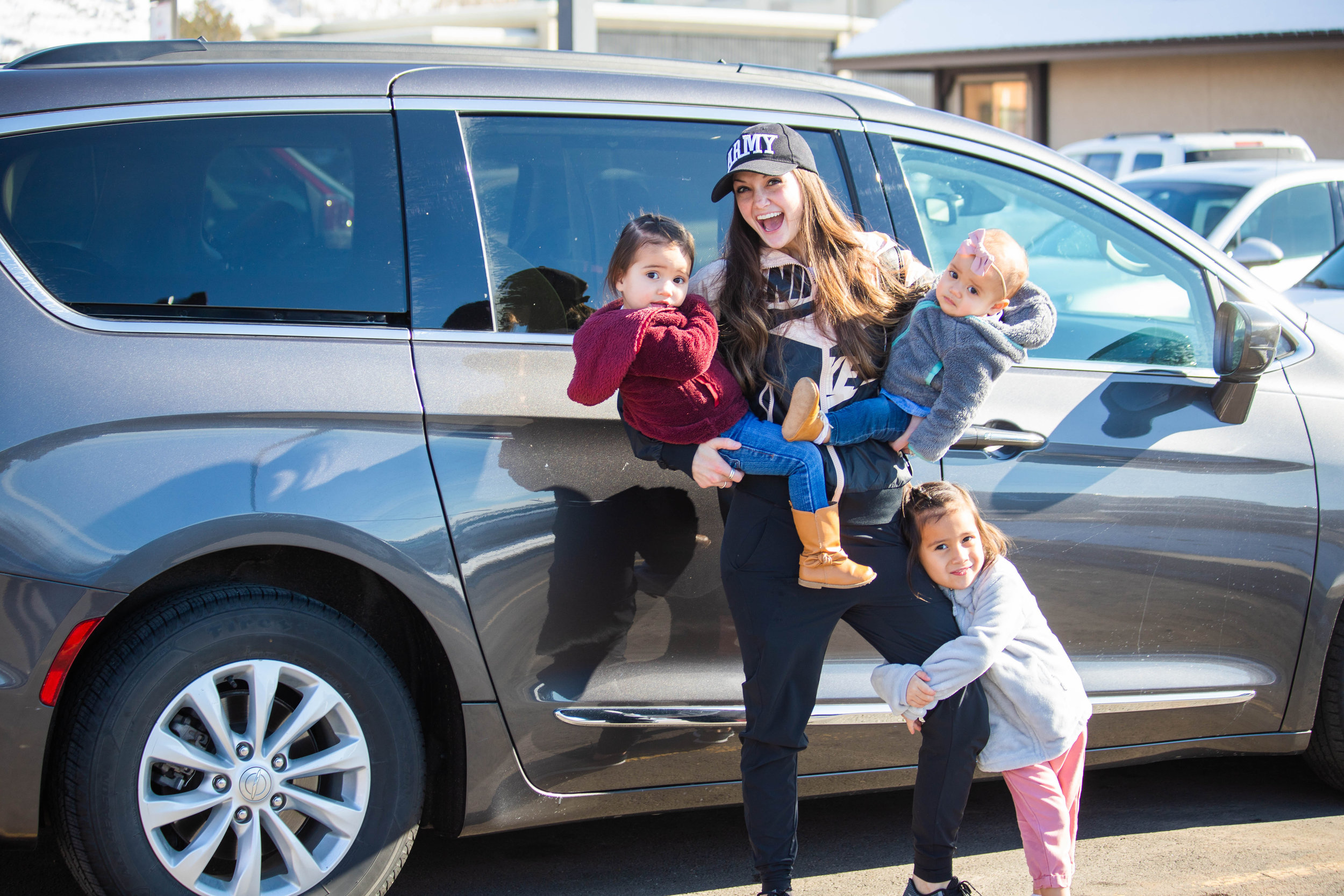 We have a  2017 Chrysler Pacifica  and LOVE IT!