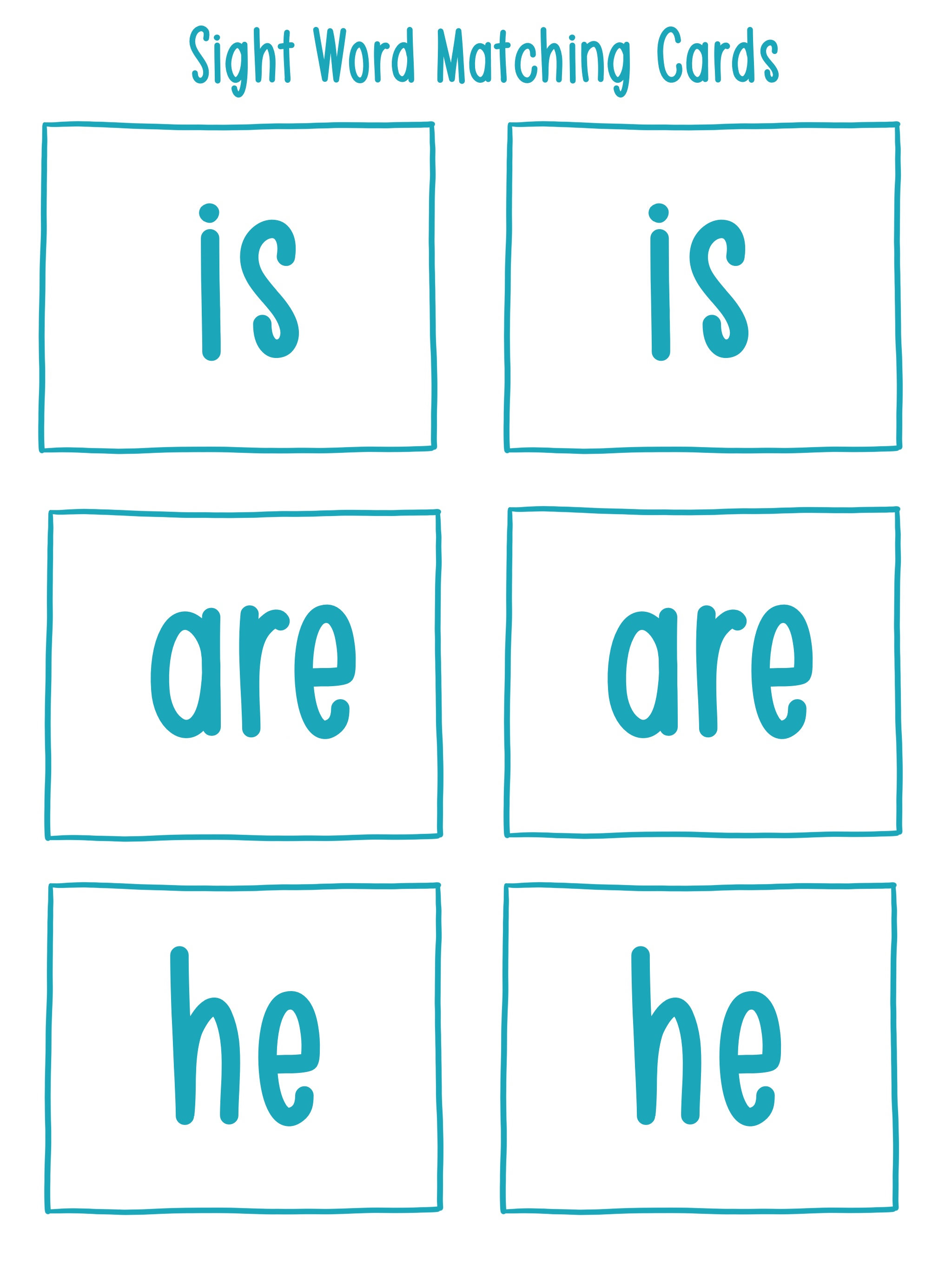 Sight Word Matching Cards.jpg