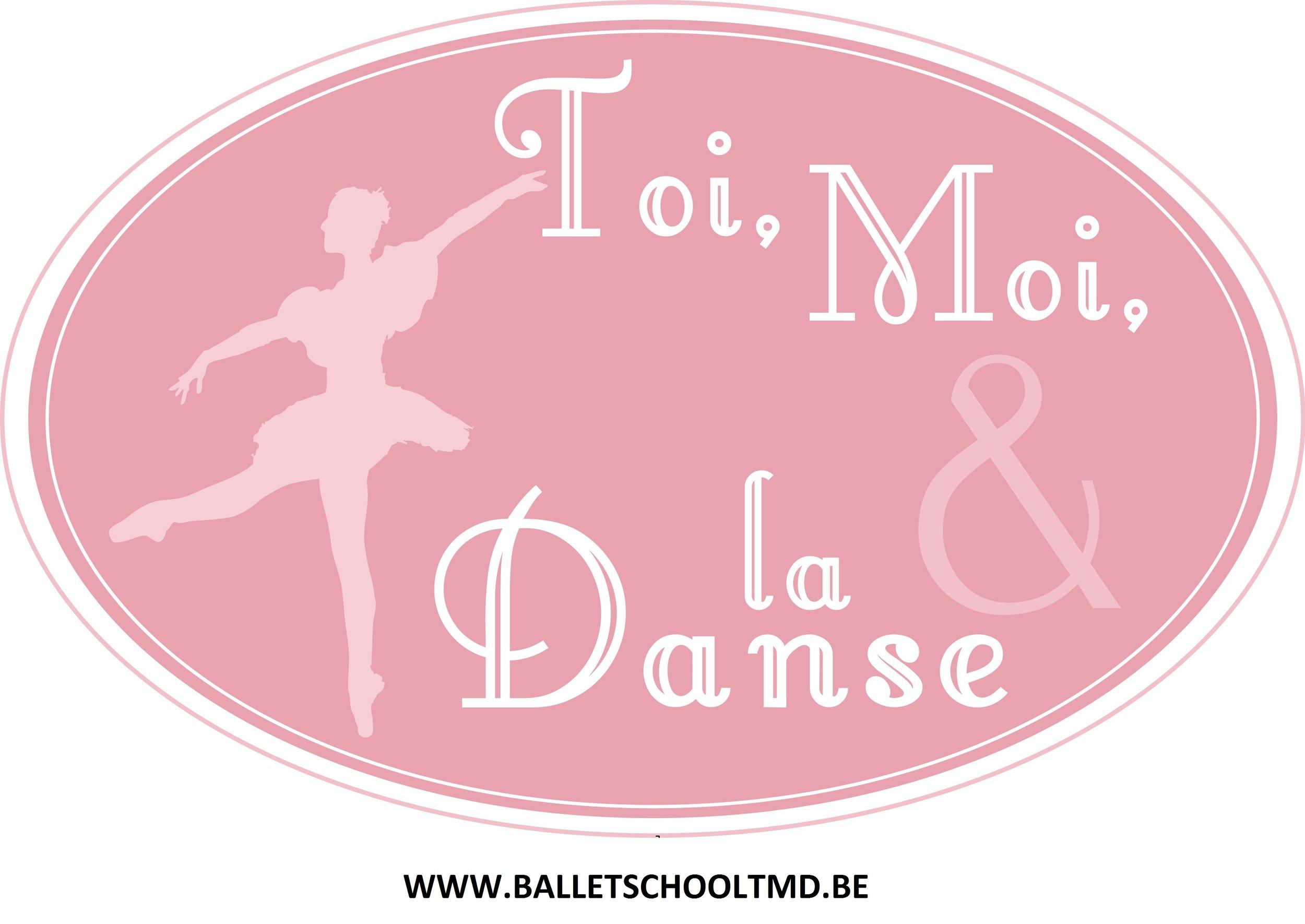 Logo TMD met website - Balletschool Toi, Moi et la Danse vzw.jpg