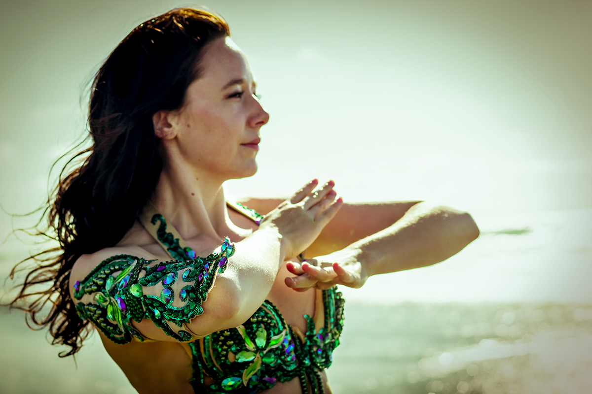 Buikdanseres Siobhan Camille
