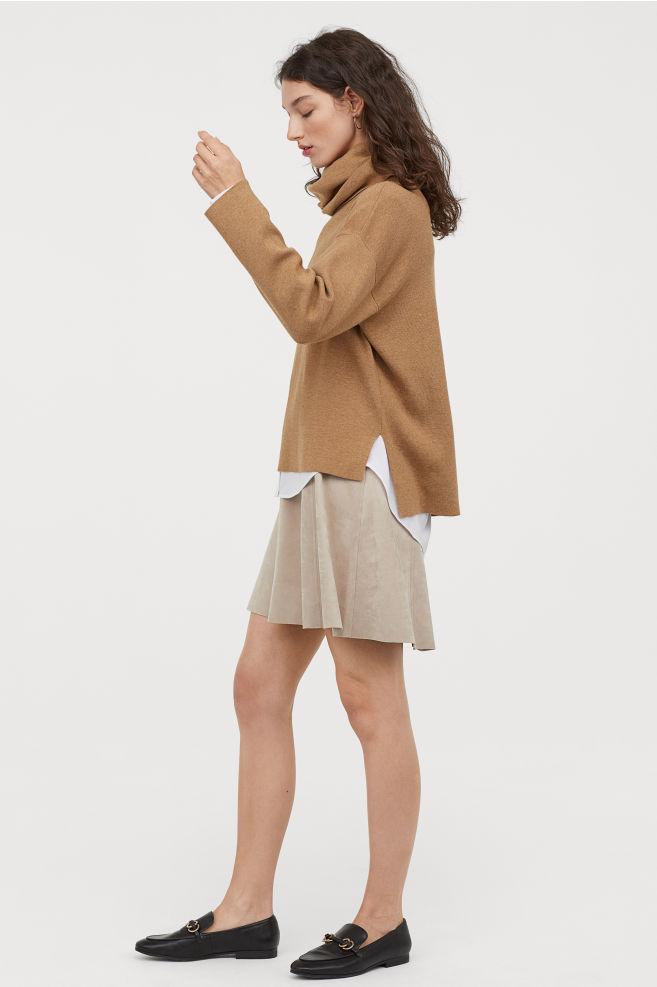 Fine-knit Turtleneck Sweater, $29.99