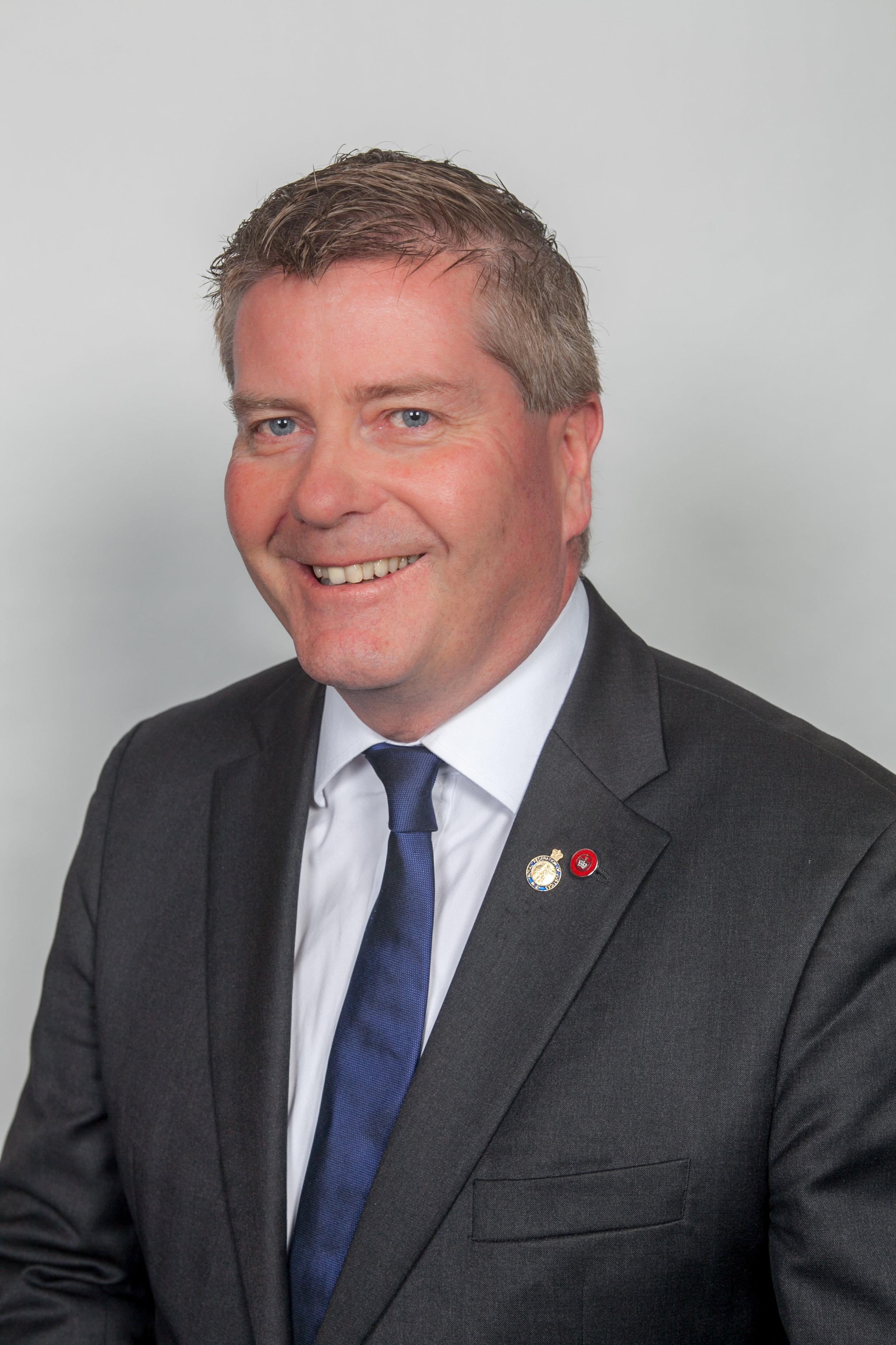 Lance Hutchison QSM JP Chairman