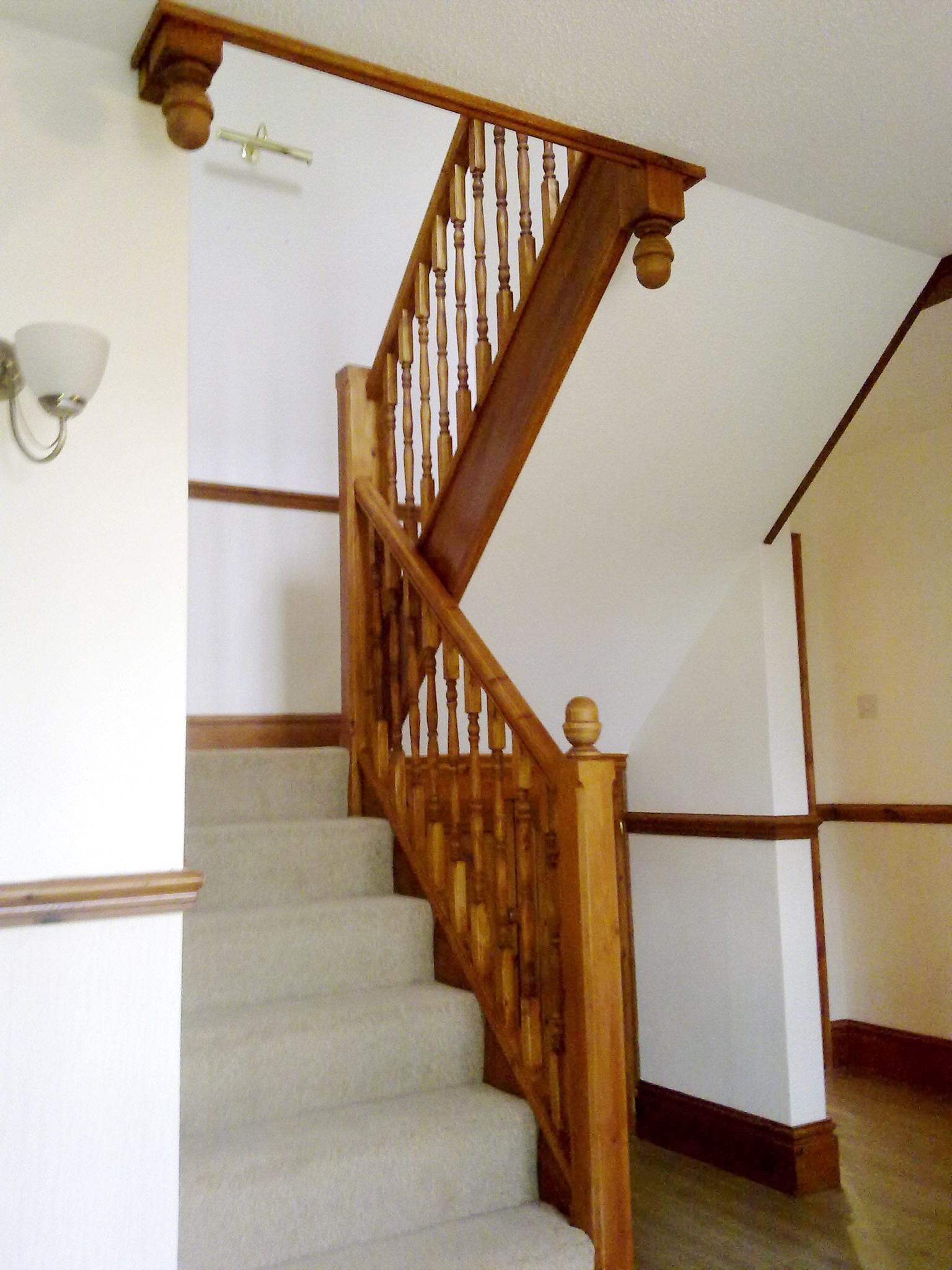 Staircase - All built and installed on site