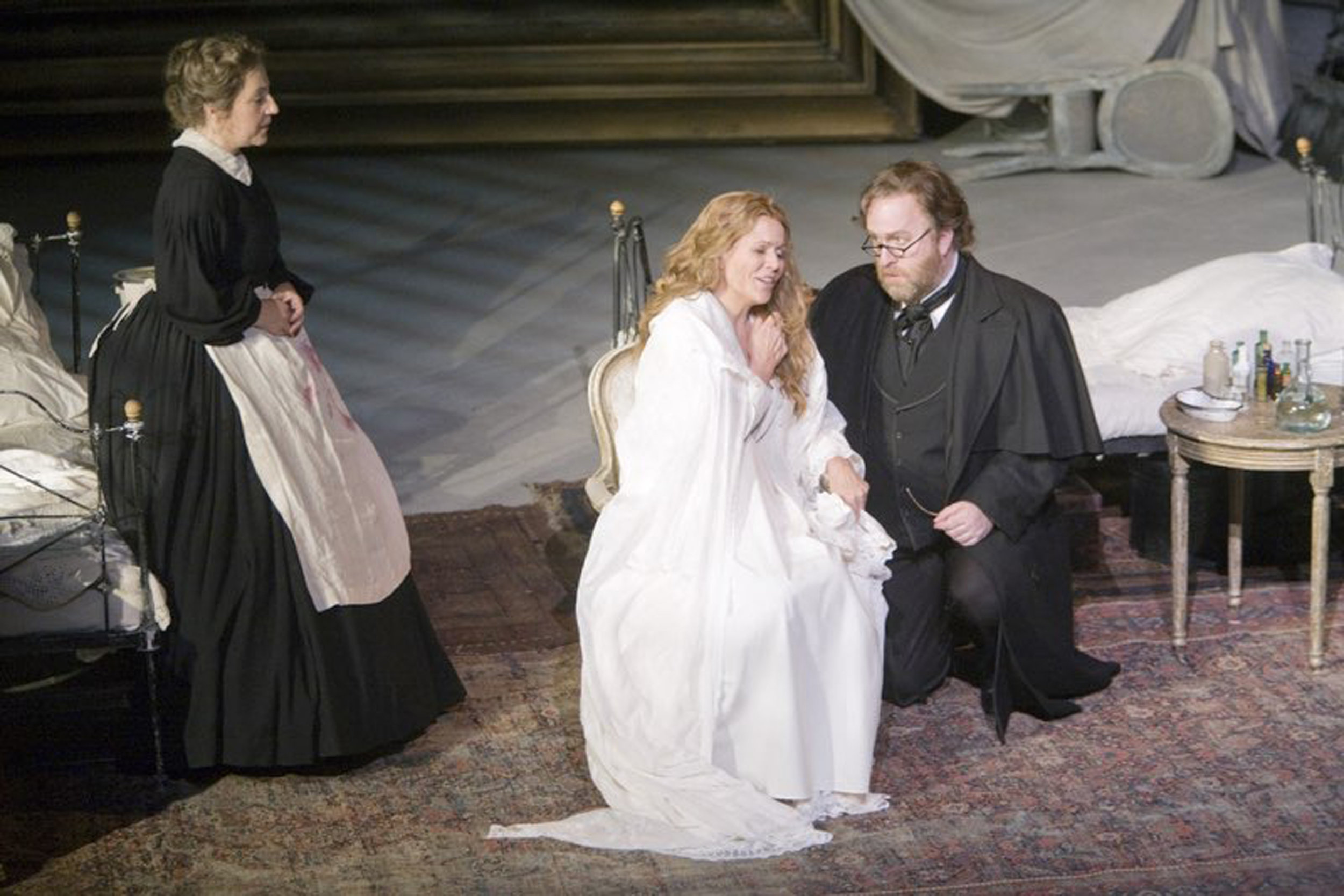 Dr. Grenvil, La Traviata : Covent Garden