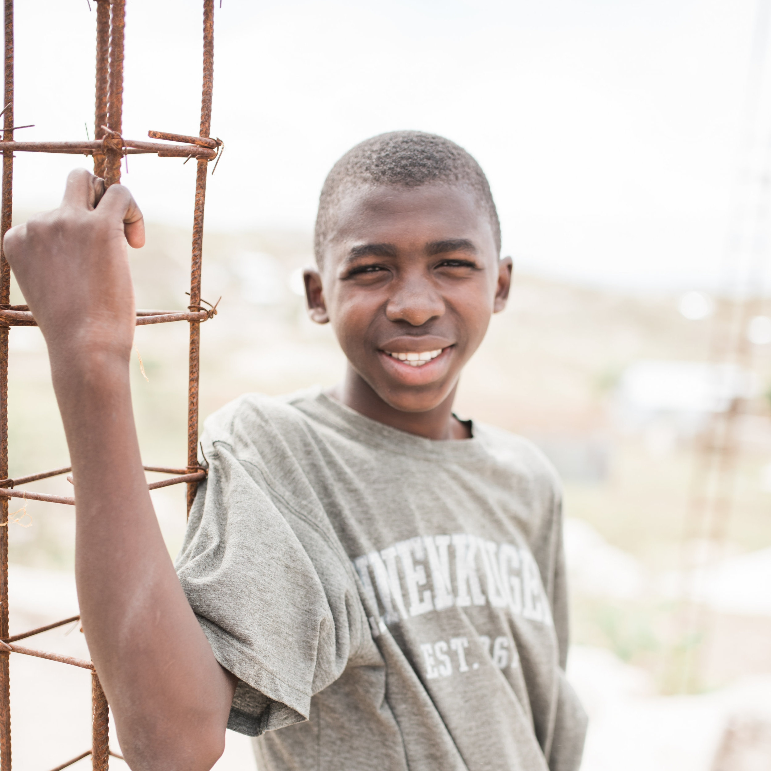 Luckson's Story - Luckson's family dropped him off at the orphanage when he was young. They did so because they thought that going to the orphanage would provide a better life for him…Read more.