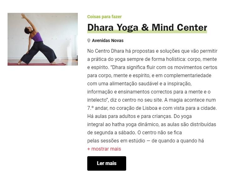 TIME OUT ONLINE | JUNHO 2018   Os melhores sítios para praticar Yoga em Lisboa