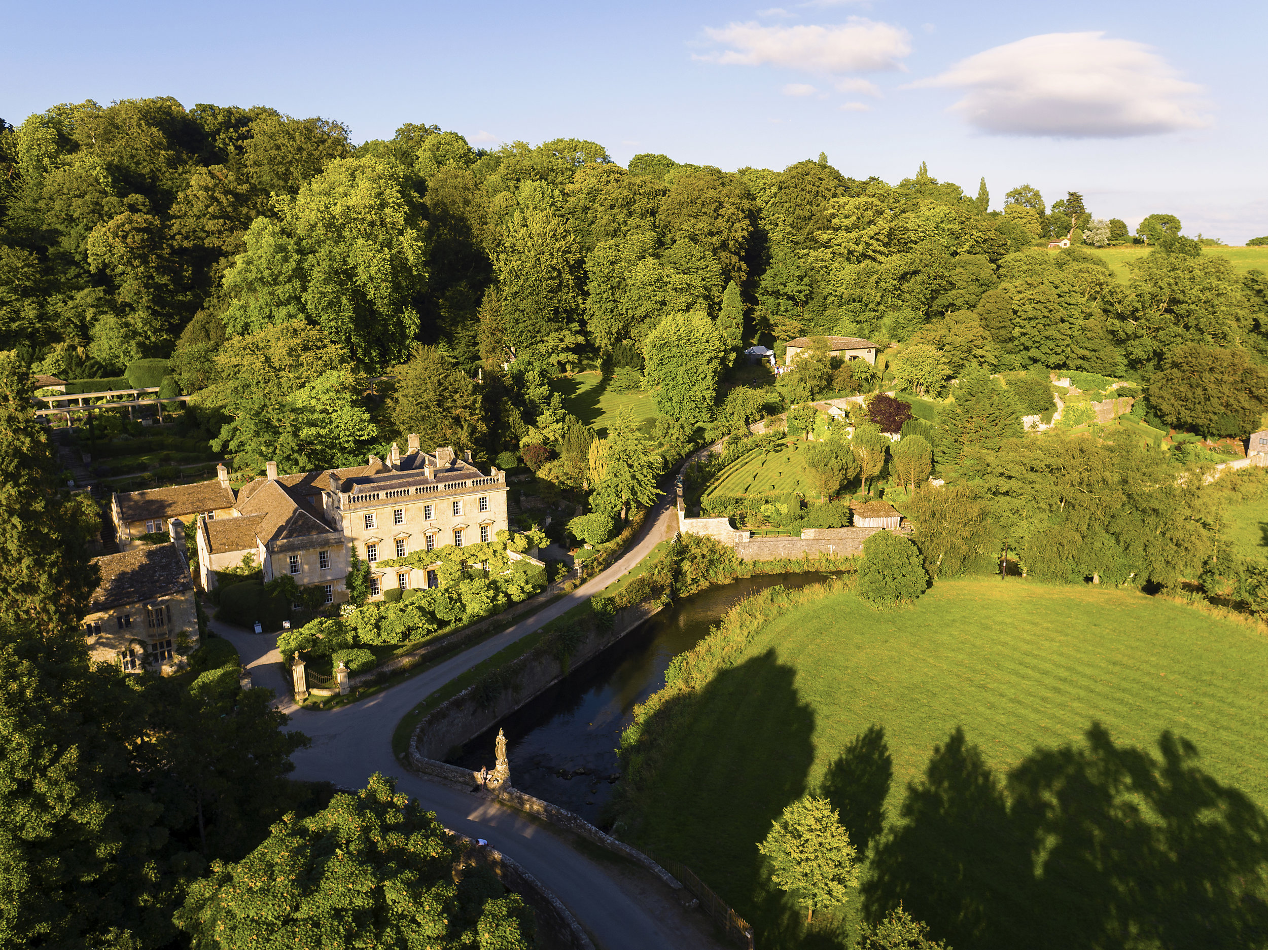 Iford Manor from the Air