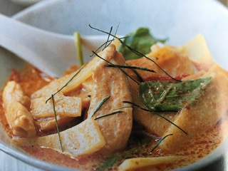 Chicken curry bamboo shoots -