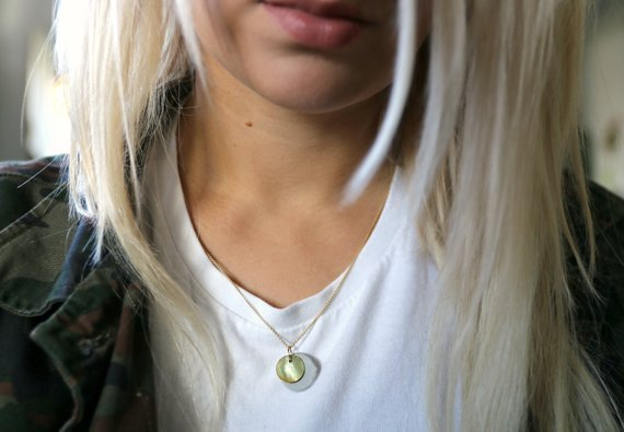concrete jewelry - pure or combined with mother-of-pearl discs, on sterling silver or golden necklaces, solo or in a batch - your new favorite jewelry. I would love to make on for you, too!shop