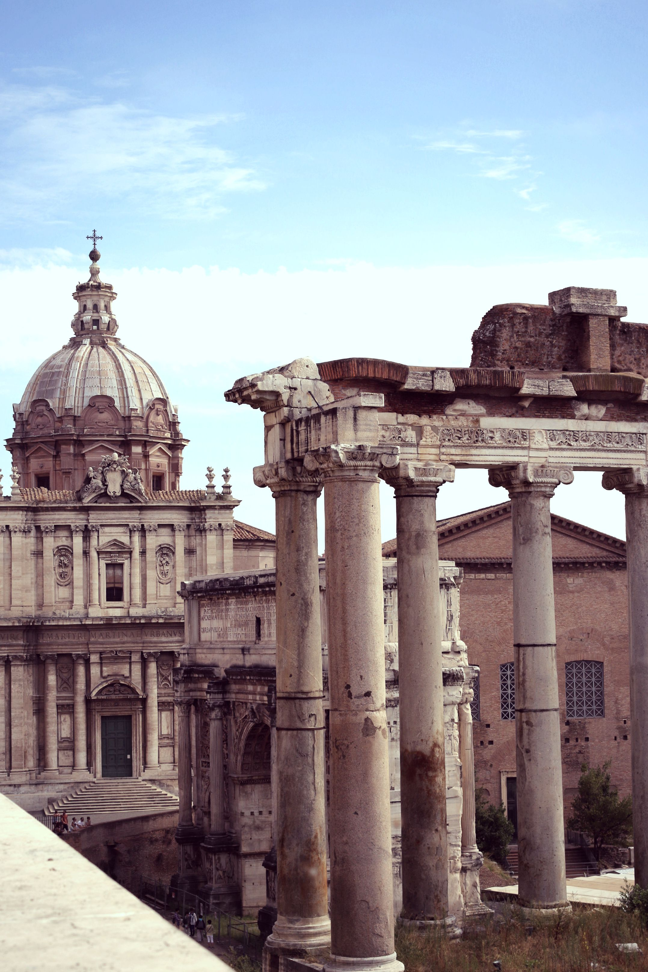 FORUM ROMANUM - getting up early is the trick