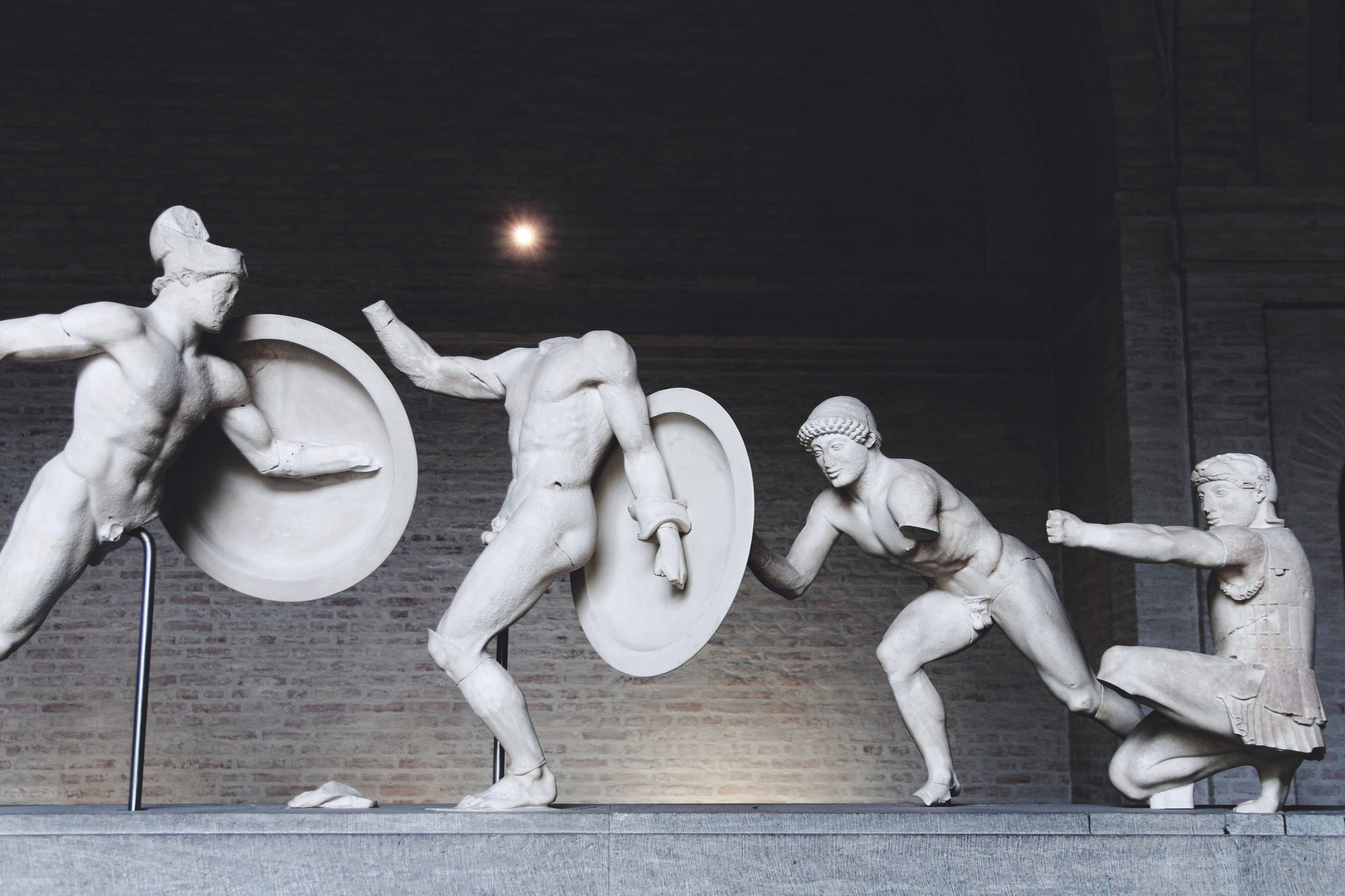 Antique sculptures at Glyptothek