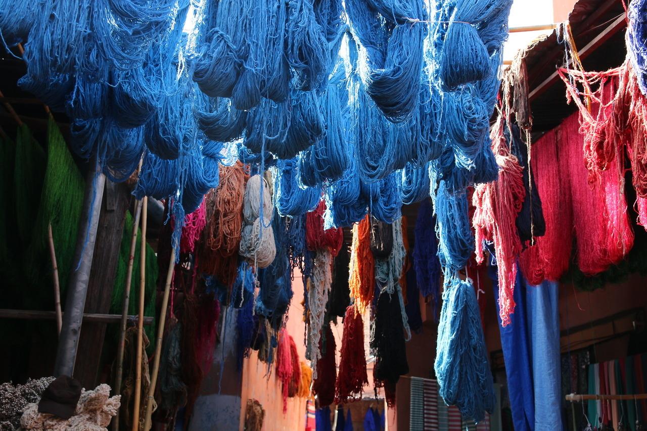 The photogenic wool souk