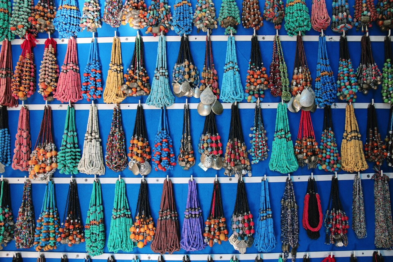 Berber style necklaces
