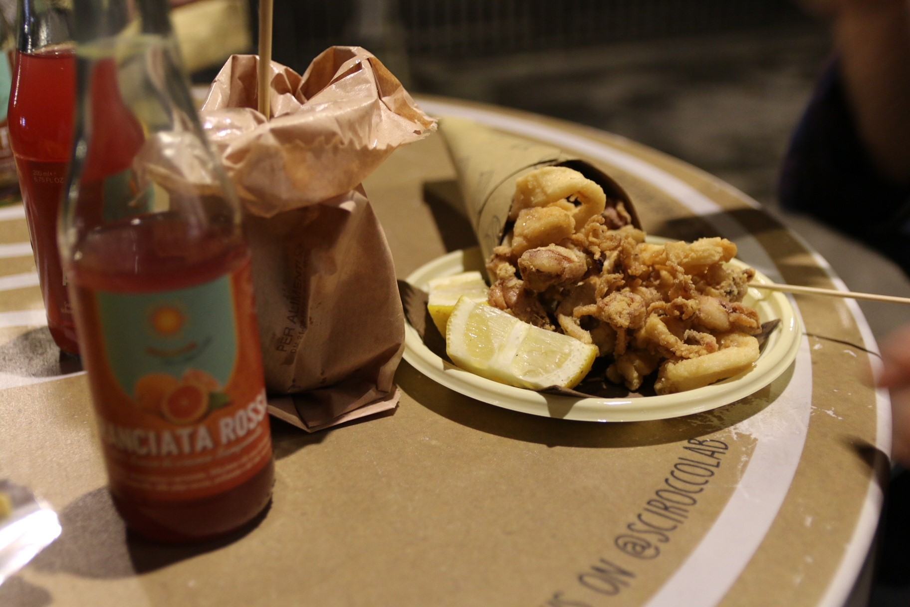 "Being located right at the sea, Catania serves a variation of fresh fish and seafood. I loved the little snack portions of ""fritto misto"" that you just have with a beer on the side at a little food stall."
