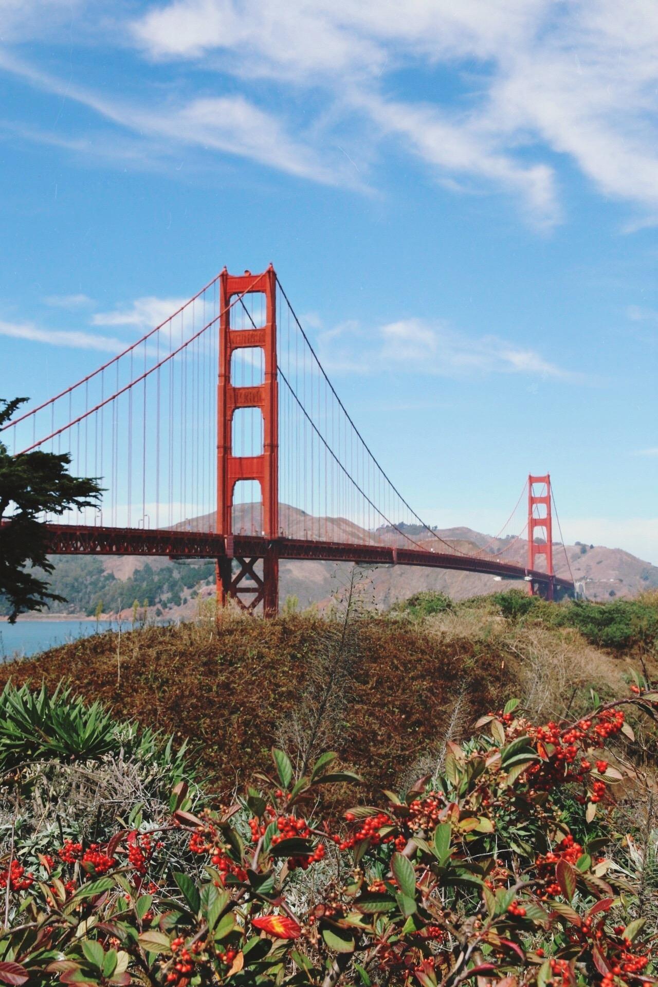 THE GOLDEN GATE BRIDGE - a bike ride over San Francisco's landmark #1
