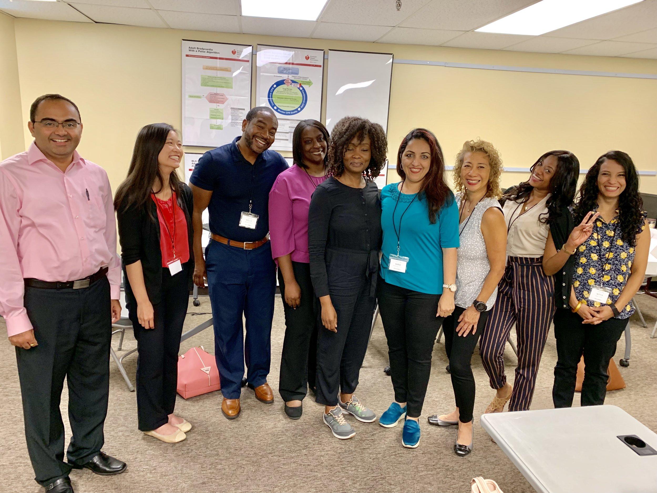 Hospital Pharmacy Prep Course Students - August 2019