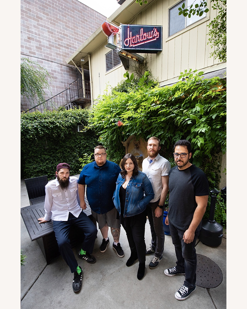 Jon Archuleta, Tom Lazet, Megan Wetzel, Chris Gray-Garcia, Sohail Al-Jamea (photo by  Aniko Kiezel )
