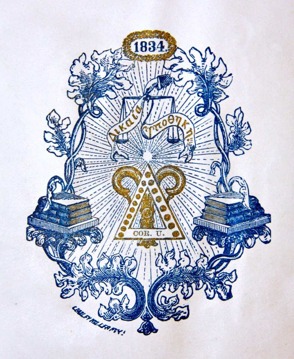 Cornell Chapter's Logo, Date Unknown