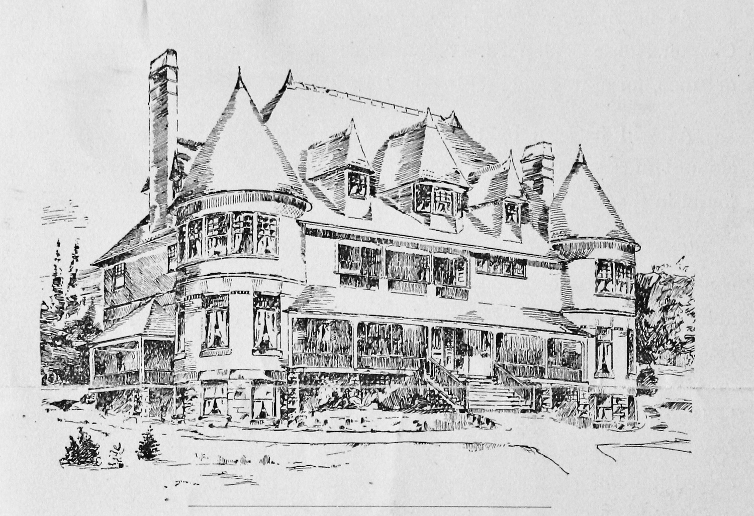 Exterior drawing