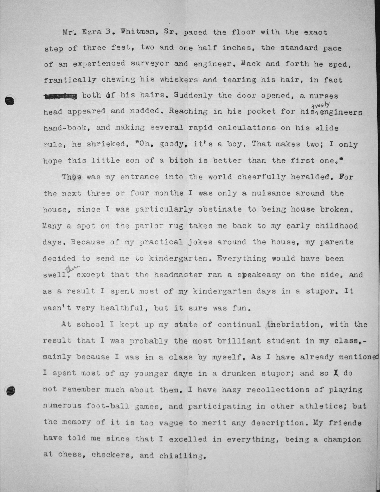 Pledge Essay, Date Unknown