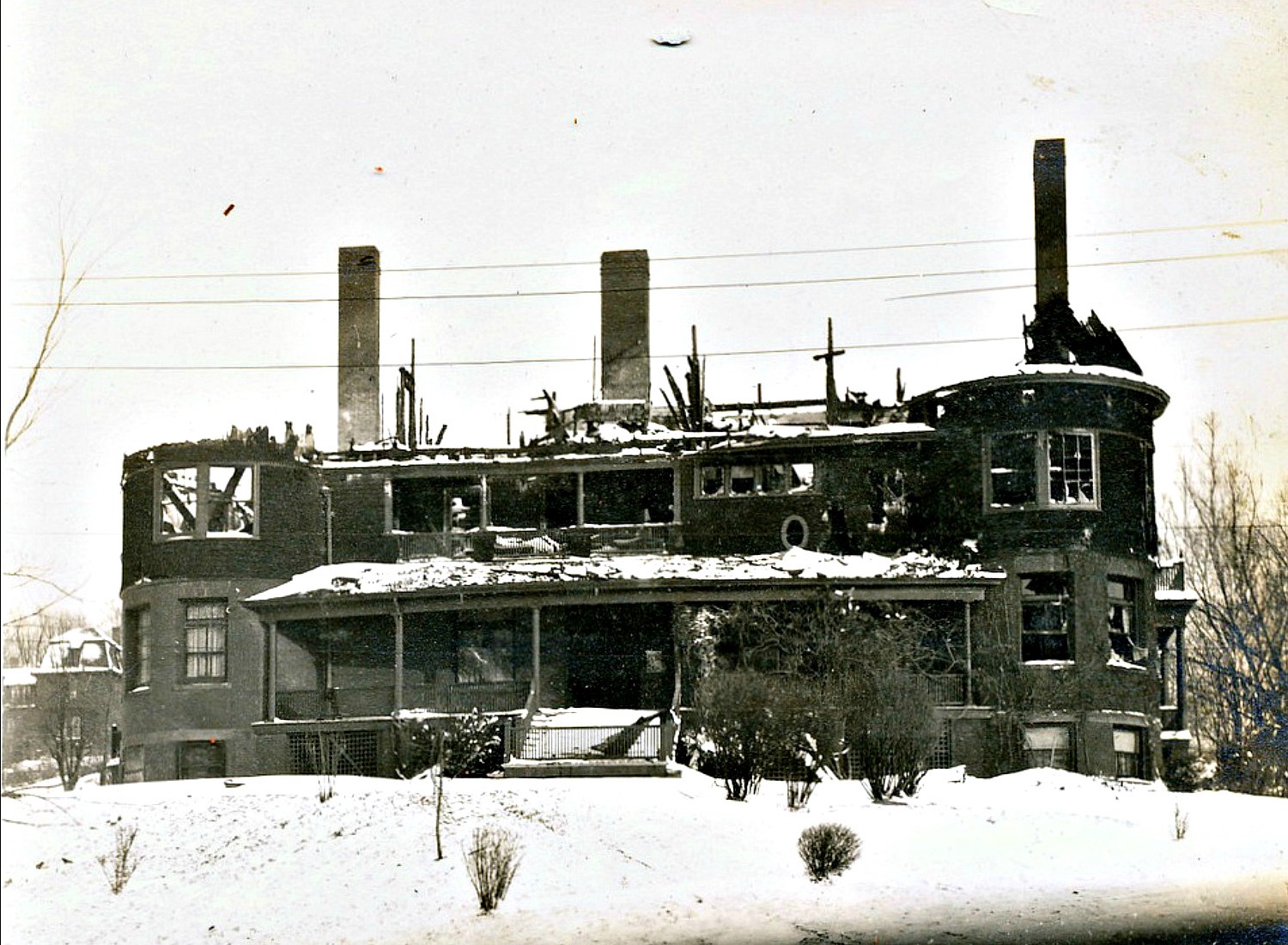 Fire of 1909, Front View