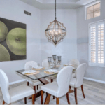 Modern Formal Dining in Scottsdale AZ by StagedToSellDesignServices