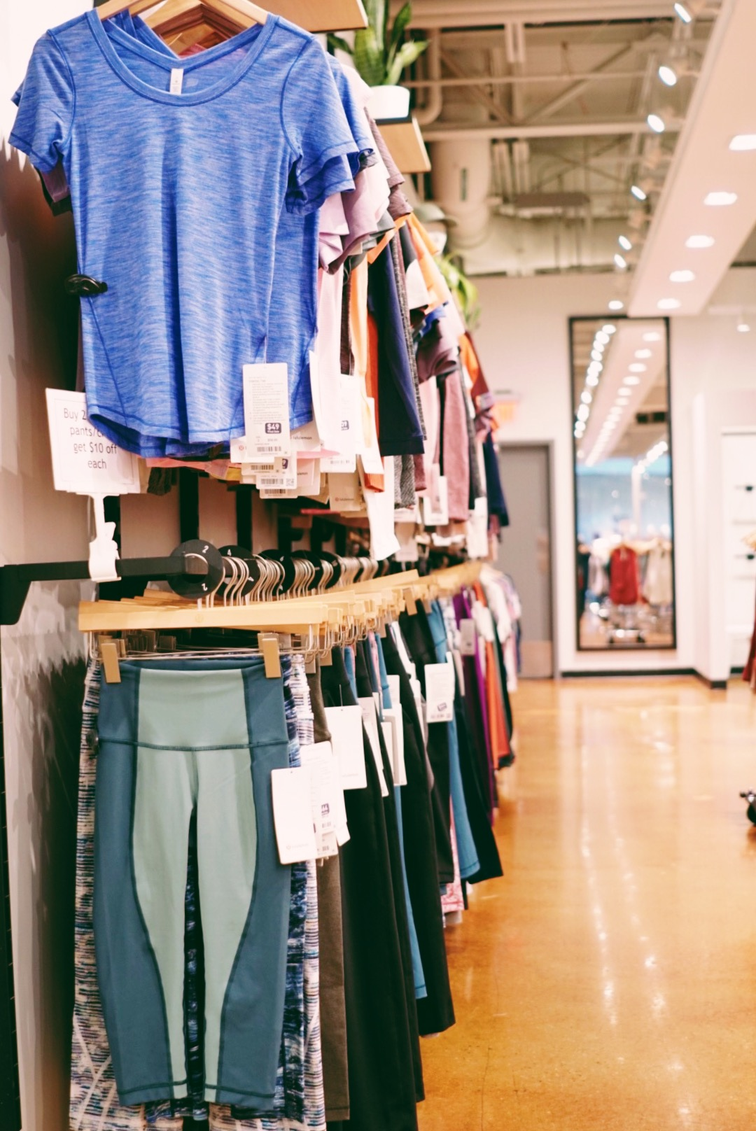 just a reminder: - The Mills are Jersey Gardens is THE destination in new jersey to find the latest on-trend fitness must-haves, whatever your budget, thanks to great outlet stores like Lululemon Athletica.it's also important to note that there is also an entire men's and child section and so many accessorizes!