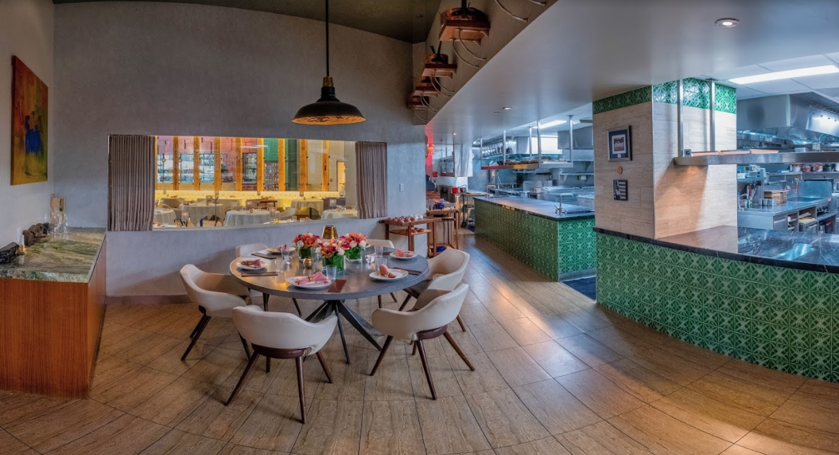 - The kitchen table accommodates groups of 2-8 guests on a nightly basis. To request availability please contact our reservations team at office@gknyc.com or 212-257-5826.