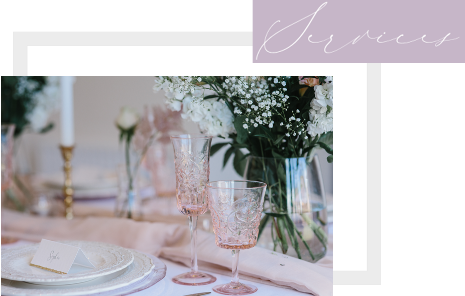 BESPOKE WEdding PLANNING SERVICES - Specialist in creating bespoke weddings that are perfectly planned, Jennifer Louise Weddings design and deliver timelessly classic weddings with contemporary twists.