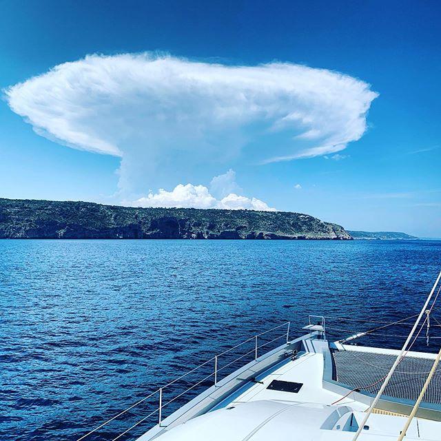 Cracking day, thanks Italy #italy #italycoast #catamaransailing