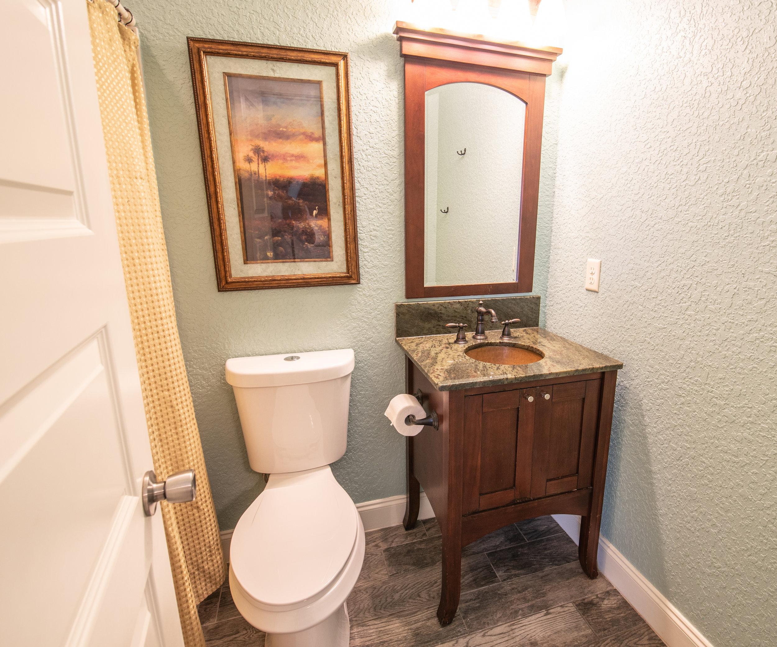 Second Floor Bedroom 1 Bathroom