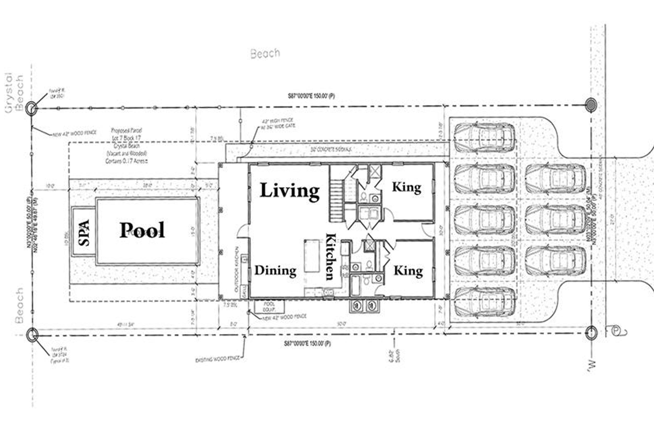 First Floor Layout Blueprint