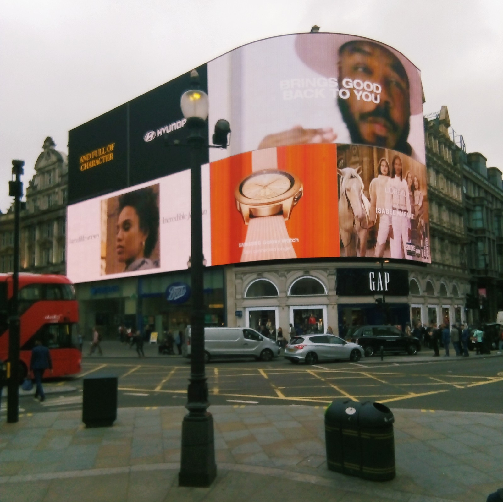 Piccadilly Circus - Day