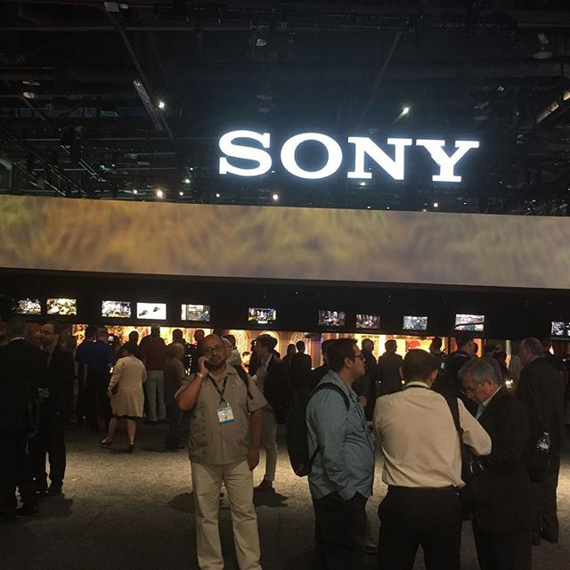 It's great to be back at NAB! #sony #nabshow #nabshow2019
